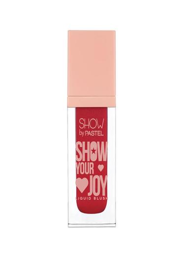 Pastel Pastel Show Your Joy Liquid Blush No:52 Kırmızı